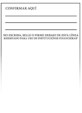 Imagen del reverso de un cheque