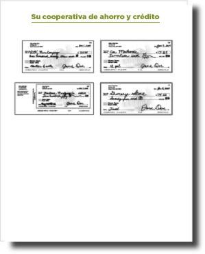 cuatro cheques