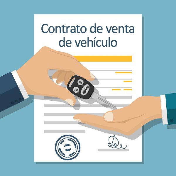 Acuerdo de venta del vehículo, entrega de la llave